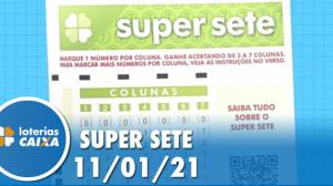 Resultado da Super Sete - Concurso nº 41 - 11/01/2021