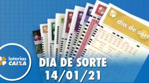 Resultado do Dia de Sorte - Concurso nº 406 - 14/01/2021