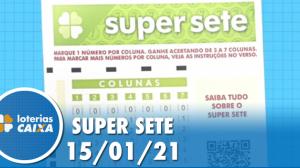 Resultado da Super Sete - Concurso nº 43 - 15/01/2021