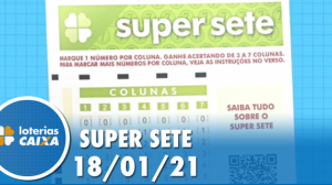 Resultado da Super Sete - Concurso nº 44 - 18/01/2021