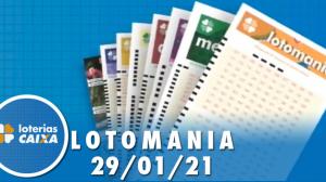 Resultado da Lotomania - Concurso nº 2148 - 29/01/2021