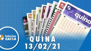 Resultado da Quina - Concurso nº 5492 - 13/02/2021