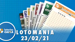 Resultado da Lotomania - Concurso nº 2155 - 23/02/2021
