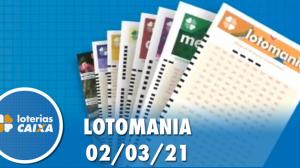 Resultado da Lotomania - Concurso nº 2157 - 02/03/2021