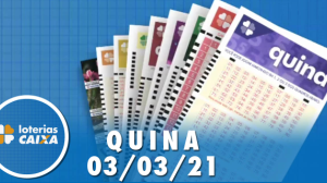 Resultado da Quina - Concurso nº 5505 - 03/03/2021