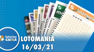Resultado da Lotomania - Concurso nº 2161 - 16/03/2021