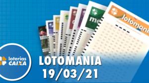 Resultado da Lotomania - Concurso nº 2162 - 19/03/2021