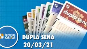 Resultado da Dupla Sena - Concurso nº 2210 - 20/03/2021