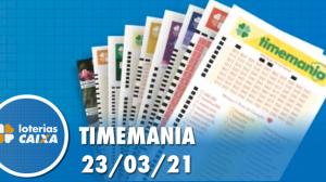 Resultado da Timemania - Concurso nº 1616 - 23/03/2021
