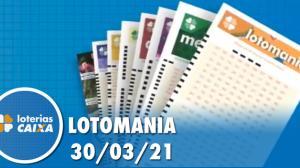 Resultado da Lotomania - Concurso nº 2165 - 30/03/2021