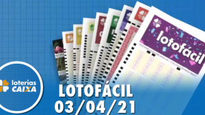 Resultado da Lotofácil - Concurso nº 2197 - 03/04/2021