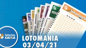 Resultado da Lotomania - Concurso nº 2166 - 03/04/2021