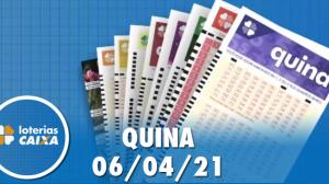 Resultado da Quina - Concurso nº 5533 - 06/04/2021