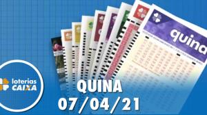 Resultado da Quina - Concurso nº 5534 - 07/04/2021
