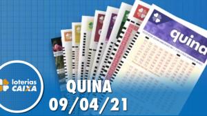 Resultado da Quina - Concurso nº 5536 - 09/04/2021
