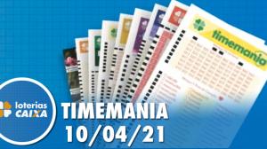Resultado da Timemania - Concurso nº 1624 - 10/04/2021