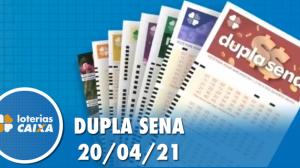 Resultado da Dupla Sena - Concurso nº 2213 - 20/04/2021