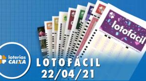 Resultado da Lotofácil - Concurso nº 2212 - 22/04/2021