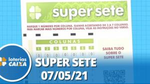 Resultado da Super Sete - Concurso nº 88 - 07/05/2021