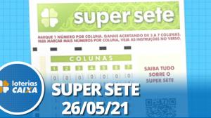 Resultado da Super Sete - Concurso nº 96 - 26/05/2021