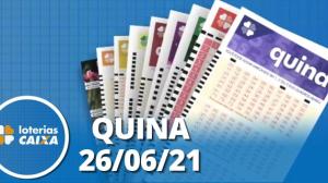Loterias CAIXA: Quina de São João - 26/06/2021