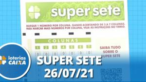 Resultado da Super Sete - Concurso nº 122 - 26/07/2021