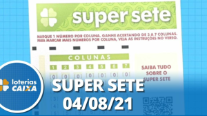 Resultado da Super Sete - Concurso nº 126 - 04/08/2021