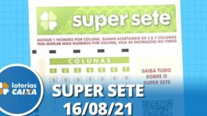 Resultado da Super Sete - Concurso nº 131 - 16/08/2021