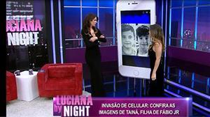 Filha do cantor Fábio Jr, Tainá Galvão abre o baú de fotografia da família