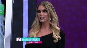 "Bárbara Evans é entrevistada no ""Luciana By Night"" desta terça (3)"