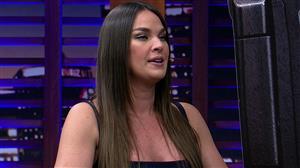"Letícia Birkheuer é a convidada do ""Luciana By Night"" desta terça (6)"