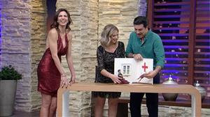 Edu Guedes e Érica Reis mostram com bonecos como se conheceram