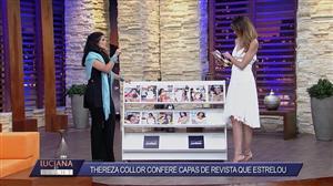 Musa do impeachment, Thereza Collor relembra capas de revista que estrelou