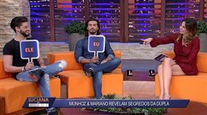 """Munhoz diz que Mariano é o 'beberrão' da dupla: """"Toma 6 caixas de cerveja"""""""