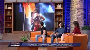 """Mariano brinca sobre banhos durante show: """"A mangueira virava torneira"""""""