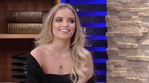 Giovanna Chaves diz que não recebeu o apoio da mãe no início da carreira