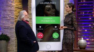 """""""Ah, se eu fosse 10 cm mais bofe"""", diz Leão Lobo sobre Juliana Paes"""