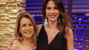 Luciana By Night recebe a apresentadora Olga Bongiovanni