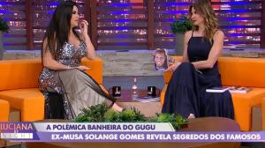No Luciana by Night, Solange Gomes revela desejo de trabalhar com Gugu