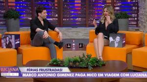 Luciana Gimenez confessa que beliscava irmão por ciúmes na infância