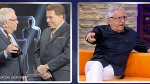 """Carlos Alberto de Nóbrega relembra viagem """"agarradinho"""" com Silvio Santos"""