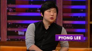 Pyong Lee é o convidado do 'Luciana By Night' desta terça-feira (12)