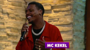 MC Kekel é o convidado do Luciana By Night desta terça (14)