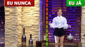 """Duda Reis joga """"eu nunca"""" com Luciana Gimenez: """"Não mando nudes"""""""