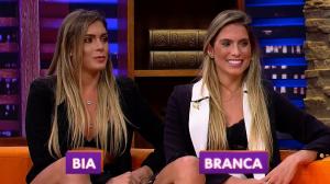 As gêmeas Bia e Branca participam do Luciana By Night desta terça (02)