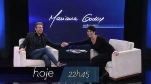Mariana Godoy Entrevista recebe João Kléber e Mafalda Minnozzi