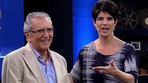 Mariana Godoy Entrevista recebe o humorista Carlos Alberto de Nóbrega