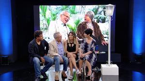 """Carlos Alberto e Paulinho Gogó improvisam quadro de """"A Praça é Nossa"""""""