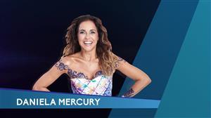 Mariana Godoy recebe a cantora Daniela Mercury nesta sexta-feira (25)
