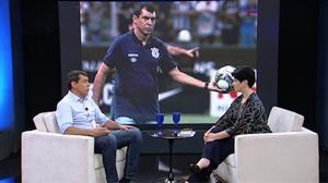 Mariana Godoy recebe o técnico do Corinthians Fábio Carille - Íntegra